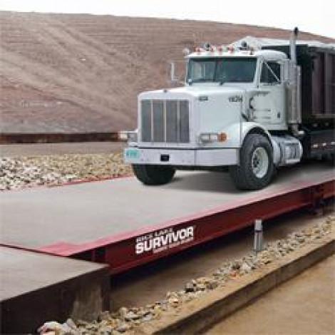 Rice Lake Survivor OTR Flat Top Concrete Deck Truck Scale