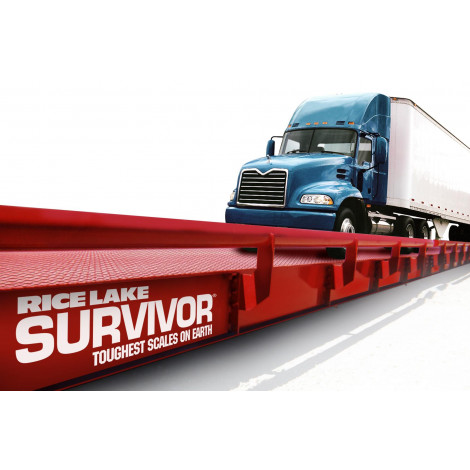 Rice Lake Survivor OTR Steel Deck Truck Scale