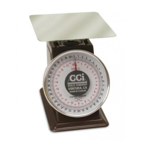 """CCI LCD Series 8"""" Spring Dial Scale"""