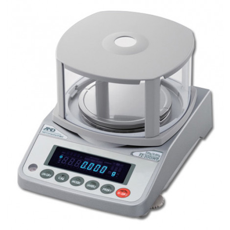 A&D FX-iWP Series Precision Balance Scale- Front right