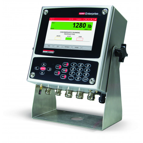 Rice Lake 1280 Enterprise Programmable Indicator Universal Enclosure