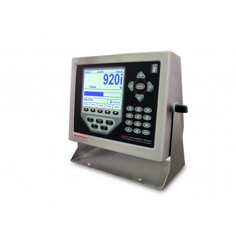 Rice Lake 920i Series Programmable Weight Indicator and Controller Side