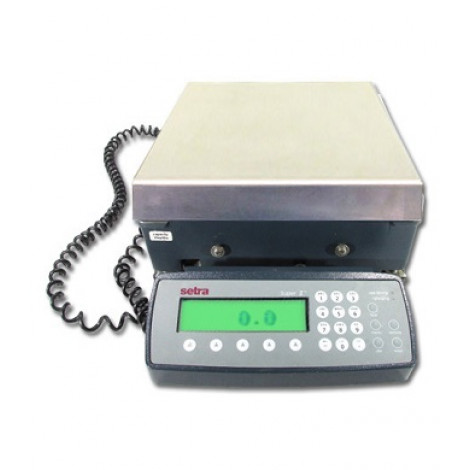 Setra Super II Digital Counting Scale with Backlight, Battery and Remote Scale Option