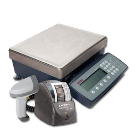 setra-super-II-bar-code-counting-scale-system-with-scanner-and-printer-left-side