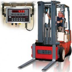 Rice Lake CLS-420 Wired Cargo Lift Truck / Pallet Scale