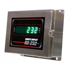 Rice Lake RD-232 Remote Display Stainless Steel, NEMA Green LED