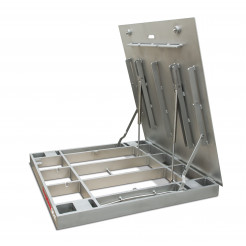 Rice Lake QC-X Quick Clean Floor Scale Lifted Side Angle