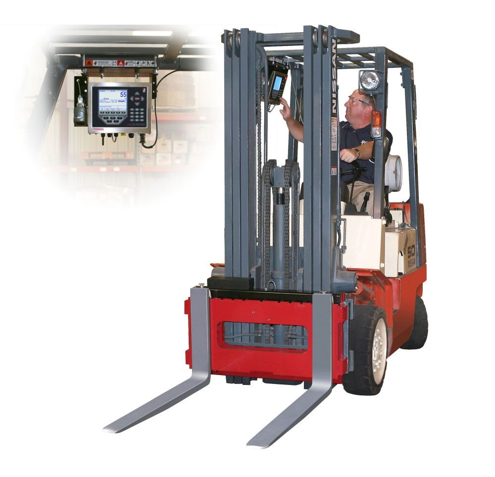Rice Lake CLS Series Forklift Scale with 920i Indicator